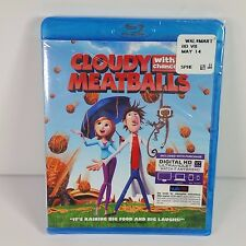 CLOUDY WITH A CHANCE OF MEATBALLS Blu-ray + Digital Ultraviolet HD --NEW--
