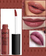NYX - SOFT MATTE LIP CREAM LIQUID LIPSTICK - ROME - MID NUDE W/ RED MAUVE TONES