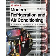 NEW (2DAY SHIP) Modern Refrigeration and Air Conditioning Workbook PAPERBACK