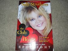 Sally Struthers Signed Dinner Theatre Program