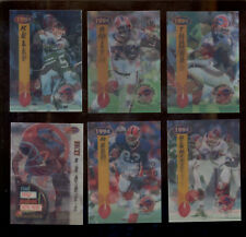 1994 SF (3-D) Buffalo Bills Set THURMAN THOMAS JIM KELLY BRUCE SMITH ANDRE REED