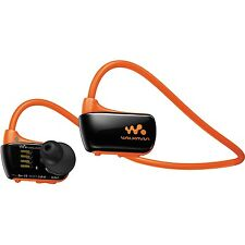 *NEW* SONY NWZ-W273S 4GB Waterproof Walkman Sports Swimming MP3 Player (Orange)