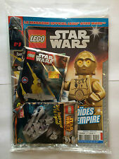 FRENCH LEGO STAR WARS MAGAZINE N°9 + 2 POLYBAG 911609 911510 SEALED MINT NEUF
