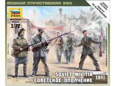 Zvezda - Soviet Militia 1941 - 1:72