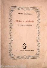 ELOISA E ABELARDO Versioni poetiche dal latino Ignazio Calandrino Intelisano