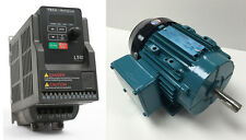 MOTOR & VFD PACKAGE- 1/3 HP 3600 RPM TEFC BROOK MOTOR WITH .50 HP 115V TECO VFD
