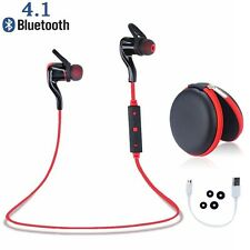 Bluetooth 4.1 Wireless Stereo Earphone Earbuds Sport Headset Headphone