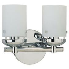 Sea Gull Lighting 40044 Chrome Bliss 2 Light Bathroom Vanity Light