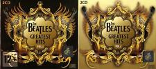 THE BEATLES Greatest Hits Part 1 + 2 CD Box 4-disc Set Best Songs Sealed Z