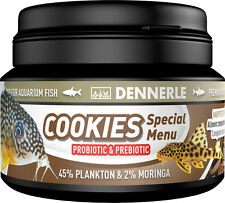 Dennerle Premium Fish Food: Cookies Special Menu 100ml for Cory, Loach, Catfish