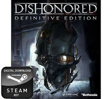 DISHONORED DEFINITIVE GAME OF THE YEAR EDITION GOTY PC STEAM KEY