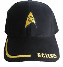 "Star Trek baseball Caps - ""SCIENCE"""