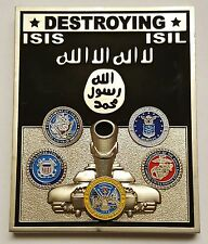 DoD The Pentagon Operation Inherent Resolve 2015 Destroying ISIS ISIL Daesh