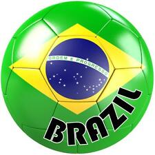 decal sticker worldcup car bumper flag team soccer ball foot football brazil