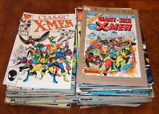 HUGE Classic X-Men lot Byrne Claremont Art Adams Bolton Wolverine Sabertooth Run