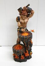 G91607 GREEK GOD FORGE SWORD GSC GEORGE CHEN STATUE FIGURINE DECORATION