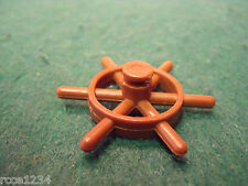PLAYMOBIL 3599 COAST GUARD BOAT SHIP'S WHEEL