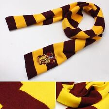 HOT Harry Potter Gryffindor House Cosplay Costume Knit Wool Scarf Wrap