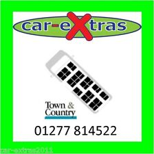 Town & Country Covers - Ford Transit 06-13 Minibus 15 seater Seat Covers - Black