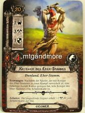 Lord of the Rings LCG  - 1x Krieger des Eber-Stammes  #018 - Die Dunland-Falle