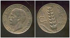 ITALIE  ITALY  5 centesimi 1926  ( bis )