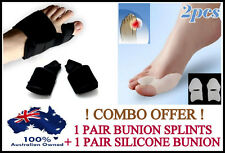 COMBO OFFER !! Bunion Splints Foot Toe Pain Relief  Hallux Valgus Splint Brace