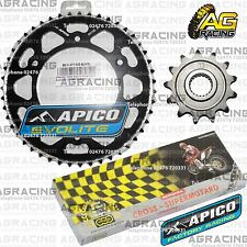 Regina 520 RH Chain Apico Sprocket Set 13T & 47T Black For Honda CRF 250R 2010