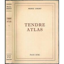 TENDRE ATLAS Maurice CHAUVET Cévennes Rouergue Corbières Causses et  Pyrénées 19