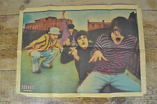 THE STONE ROSES VINTAGE COLOUR PAPER POSTER SOUNDS MAGAZINE NOVEMBER 1990