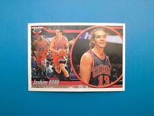 2010-11 Panini NBA Sticker Collection n. 63 Joakim Noah Chicago Bulls