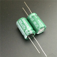5pcs 820uF 25V 12.5x20mm SAMXON GF 25V820uF High ripple Low Impedance capacitor
