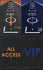 Foreigner: 2008 No End In Sight Tour Set of 2 Unused Laminated Passes  New