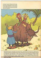DDR Zeitschrift Comic Mosaik Abrafaxe Heft 4 1986 Variante brauner Streifen