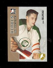 11) JEAN BELIVEAU Montreal Canadiens 2005-06 ITG Heroes and Prospects Hockey LOT