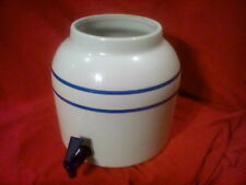 Vintage Blue & White Ceramic Water Jug