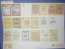 1/6 3R GM633, GM635 DID German accessories officers documents (read description)