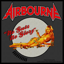 AIRBOURNE - Patch Aufnäher - Guts no glory 10x10cm