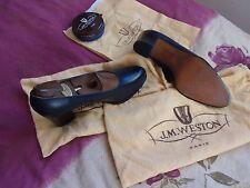 Chaussures escarpins JM Weston + embauchoirs + cirage + sacs + facture