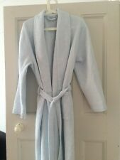 White Company Women's Cotton Dressing Gown / Robe Size Large Excellent Condition