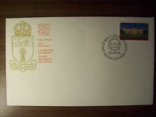 CANADA FDC 1982 REGINA CENTENNIAL 30c BEAUTIFUL COVER!