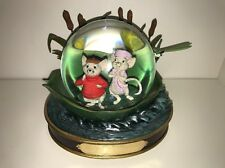 Rare Disney Musical Snow Globe The Rescuers 30th Anniversary Limited Edition