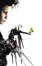 EDWARD SCISSORHANDS Movie POSTER Tim Burton Johnny Depp 01 Art Wall 24X32 Inch