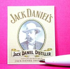 Dollhouse Miniature Size Sign...JackDaniel's(Picture of Man)  S670