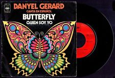 "DANYEL GERARD - Butterfly / Quien Soy Yo - SPAIN SG 7"" CBS 1971 - IN SPANISH"