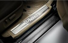 GENUINE TOYOTA HILUX VIGO DOUBLE CAP CAR ACCESSORY STAINLESS STEEL SCUFF PLATES