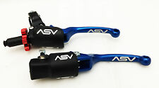 ASV F3 Pro Pack Blue Unbreakable Brake + Clutch Levers Raptor 700 2007 - 2017
