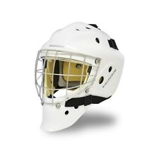New Vaughn 7700 SB Sr goalie helmet white senior large ice hockey goal face mask