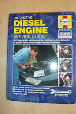 AUTOMOTIVE DIESEL ENGINES HAYNES SERVICE MANUAL MERCEDES FORD FIAT LANDROVER  97