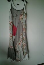 ME Brand,(2 piece set ) ladies dress, Size T40,in Taupe/Pink/Coral/Cream colours