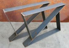 "1 set of Raw Steel ""  "" Style Legs 1pair/2legs"